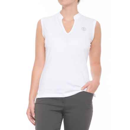 Bogner Flora Golf Shirt - Sleeveless (For Women) in White - Closeouts