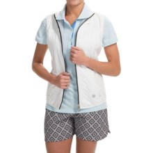 Bogner Geena Soft Shell Vest (For Women) in Off White - Closeouts