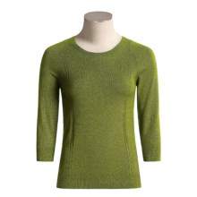 Bogner Gela Knit Shirt - 3/4 Sleeve (For Women) in Avacado - Closeouts