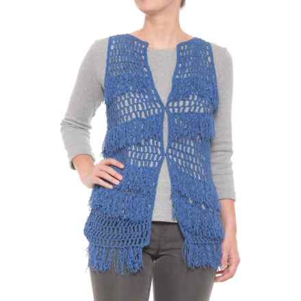 Bogner Gil Knit Vest (For Women) in Blue - Closeouts