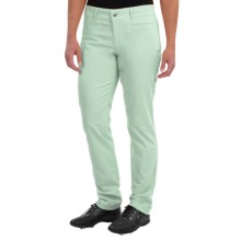 Bogner Gina Techno Stretch Golf Pants - Slim Fit (For Women) in Jade Green - Closeouts