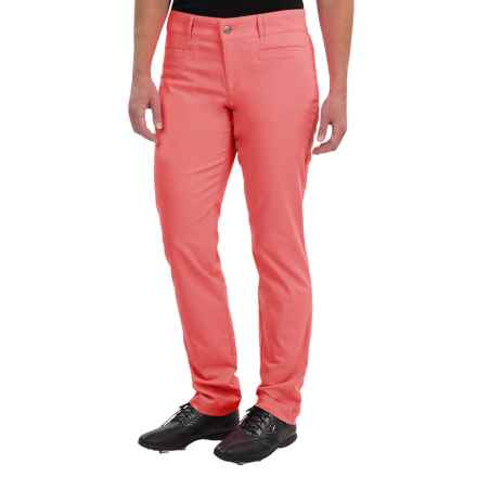 Bogner Gina Techno Stretch Golf Pants - Slim Fit (For Women) in Orange - Closeouts