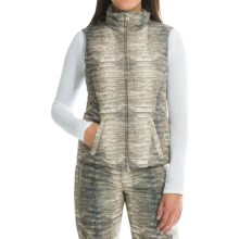 Bogner Glory Down Vest (For Women) in Crocodile Print - Closeouts
