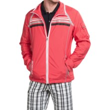 Bogner Goias Golf Jacket (For Men) in Coral - Closeouts