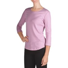 Bogner Greta-1 Cotton T-Shirt - 3/4 Sleeve (For Women) in Light Pink - Closeouts