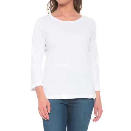 Bogner Greta-1 T-Shirt - Long Sleeve (For Women) in White - Closeouts