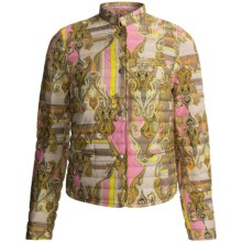 Bogner Gritt Down Jacket - Quilted Nylon (For Women) in Gold Multi Paisley - Closeouts