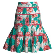 Bogner Gypsy Skirt - Silk (For Women) in Multi - Closeouts