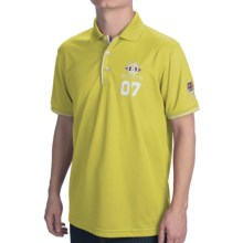 Bogner Haio Pique Golf Polo Shirt - Short Sleeve (For Men) in Yellow - Closeouts