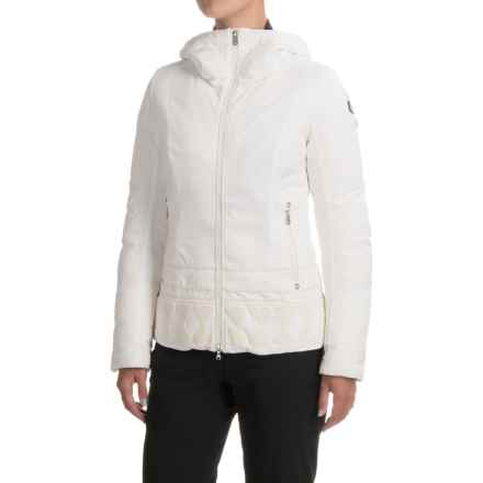 Bogner Hanina-D Stretch Down Jacket (For Women) in Off White - Closeouts