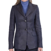Bogner Hazel Blazer (For Women) in Blue/Brown - Closeouts