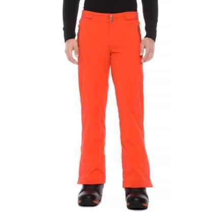 Bogner Hybrid-T Ski Pants - Waterproof, Insulated (For Men) in Orange - Closeouts