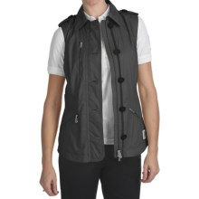 Bogner Indra Golf Vest - Ripstop (For Women) in Black - Closeouts