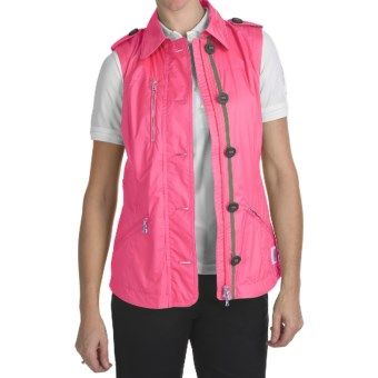 Bogner Indra Golf Vest - Ripstop (For Women) in Pink