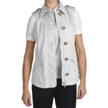 Bogner Indra Golf Vest - Ripstop (For Women) in White - Closeouts