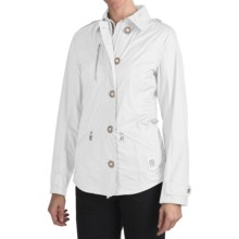 Bogner Irina-T Ripstop Golf Jacket - Waterproof (For Women) in White - Closeouts