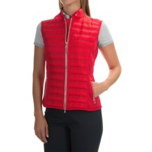 Bogner Iska-D Down Vest - Insulated, Slim Fit (For Women) in Red - Closeouts