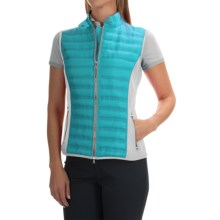 Bogner Iska-D Down Vest - Insulated, Slim Fit (For Women) in Turquoise - Closeouts