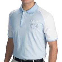 Bogner Jackie Golf Polo Shirt - Short Sleeve (For Men) in Sky Blue - Closeouts