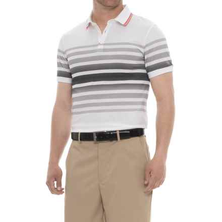 Bogner Jeremy Golf Polo Shirt - Short Sleeve (For Men) in White - Closeouts