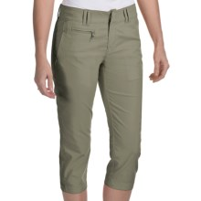 Bogner Joss-G Techno-Stretch Gabardine Golf Capris (For Women) in Olive - Closeouts