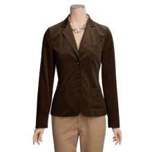 Bogner Josy Jacket - Corduroy, Cotton Velvet (For Women) in Dk Brown - Closeouts