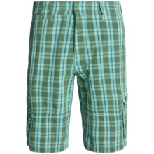 Bogner Juan Golf Shorts (For Men) in Green Check - Closeouts