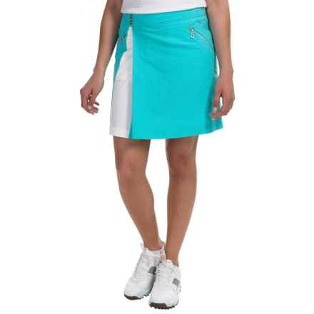 Bogner Karyn-G Golf Skort (For Women) in Turquoise - Closeouts