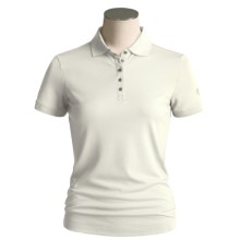 Bogner Kati Polo Shirt - Short Sleeve (For Women) in Beige - Closeouts