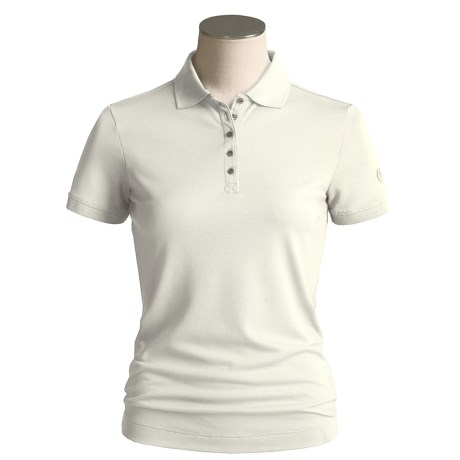 Bogner Kati Polo Shirt - Short Sleeve (For Women) in Beige