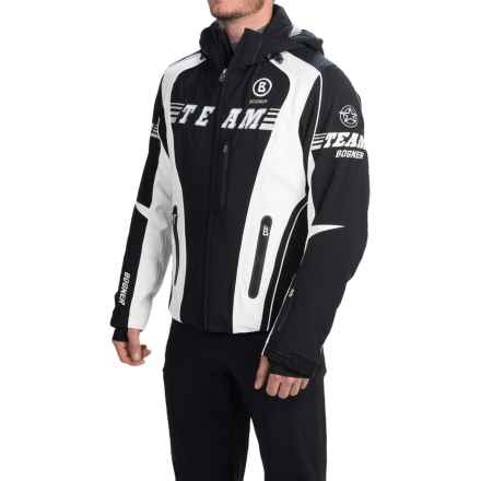 Bogner Keano-T Ski Jacket - Waterproof, Insulated (For Men) in Black/White - Closeouts