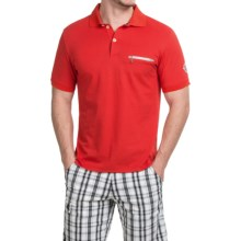 Bogner Keanu Polo Shirt - Short Sleeve (For Men) in Red - Closeouts