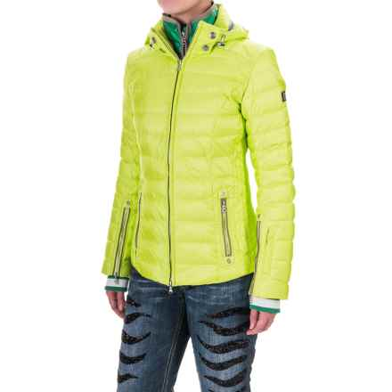Bogner Kelly-D Down Ski Jacket - 650 Fill Power (For Women) in Lime - Closeouts