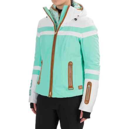Bogner Kiara-DT Down Ski Jacket - 3-in-1, Waterproof, 750 FP (For Women) in Green - Closeouts