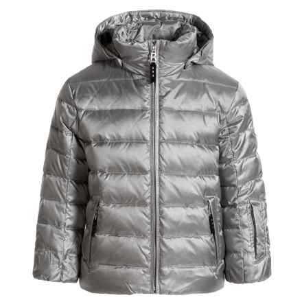 Bogner Lando Down Ski Jacket - Waterproof, 600 Fill Power (For Boys) in Sliver - Closeouts