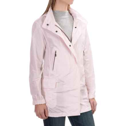 Bogner Laurette Long Coat (For Women) in Light Pink - Closeouts