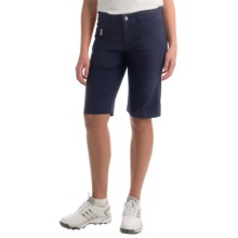 Bogner Laury-G Bermuda Gold Shorts (For Women) in Navy - Closeouts