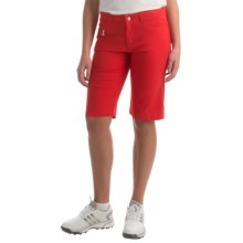 Bogner Laury-G Bermuda Gold Shorts (For Women) in Red - Closeouts