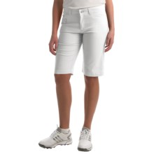 Bogner Laury-G Bermuda Gold Shorts (For Women) in White - Closeouts