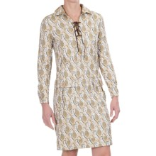Bogner Leonella Dress - Long Sleeve (For Women) in Pineapple Print - Closeouts