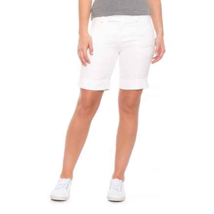 Bogner Letizia Bermuda Shorts (For Women) in Off White - Closeouts