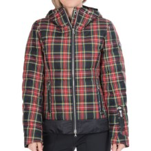 Bogner Leya Down Jacket - Insulated (For Women) in Black/Red - Closeouts