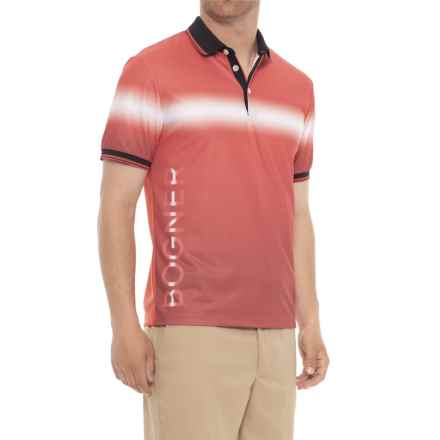 Bogner Linus Golf Polo Shirt - Short Sleeve (For Men) in Red - Closeouts