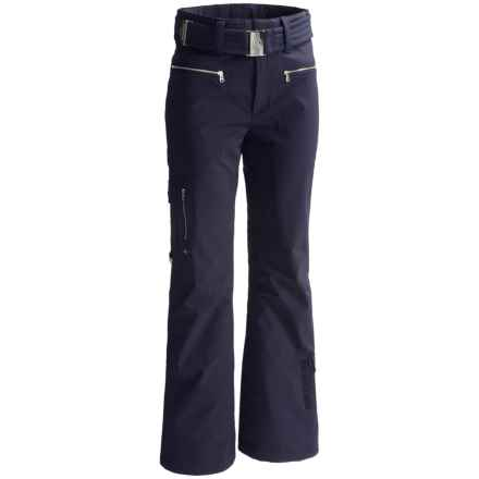 Bogner Lita Ski Pants - Slim Fit, Insulated (For Women) in Navy - Closeouts