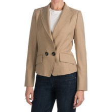 Bogner Lolita Single-Button Blazer - Poly-Wool Blend (For Women) in Tan - Closeouts