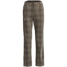 Bogner Lorina-G Golf Pants - Stretch Corduroy (For Women) in Checkered Corduroy - Closeouts