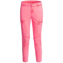 Bogner Lucea-G Stretch Cotton Golf Pants (For Women) in Pink - Closeouts