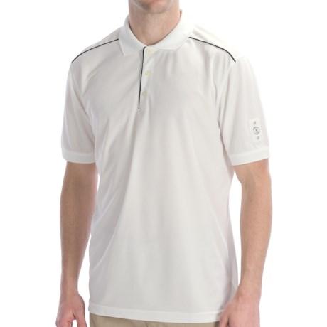 Bogner Luciano Polo Golf Shirt - Short Sleeve (For Men) in White