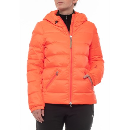 25edfefce4 Bogner Luisa-D Down Ski Jacket (For Women) in Neon Watermelon - Closeouts