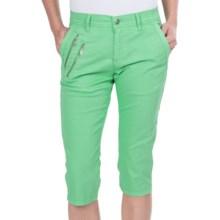 Bogner Lula Capri Golf Pants (For Women) in Fresh Green - Closeouts